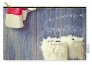 Santa's Boots Carry-all Pouch