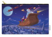 Santa's Helper Carry-all Pouch by Michael Humphries