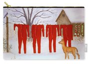 Santa's Long Johns Carry-all Pouch