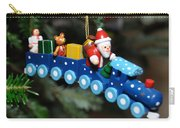 Santa's Train Delivery Carry-all Pouch