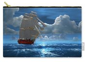 Santisima Trinida In The Moonlight Carry-all Pouch