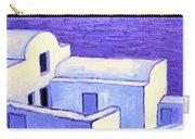 Santorini Houses Carry-all Pouch