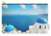 Santorini Island, Greece, Beautiful Carry-all Pouch