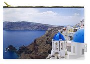Santorini Panorama 2 Carry-all Pouch