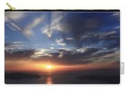 Santorini Sunset Cyclades Greece  Carry-all Pouch