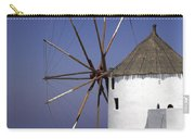 Santorini Windmill Carry-all Pouch