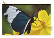 Sapho Longwing Yellow Oriented Carry-all Pouch
