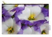 Sapphire Bluechip Lisianthus Carry-all Pouch