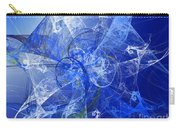 Sapphire In Blue Lace Carry-all Pouch