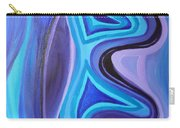 Sapphire Passion - Luminescent Light Carry-all Pouch