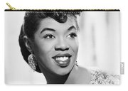 Sarah Vaughan (1924-1990) Carry-all Pouch by Granger