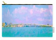 Sarasota Via Ringling Bridge Carry-all Pouch
