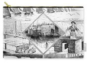 Sardine Fishery, 1880 Carry-all Pouch
