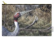 Sarus Crane Carry-all Pouch