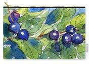 Saskatoon Berries Carry-all Pouch