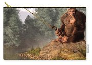 Sasquatch Goes Fishing Carry-all Pouch