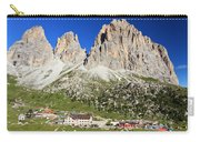 Sassolungo From Sella Pass Carry-all Pouch