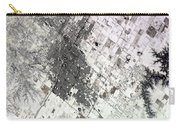 Satellite View Of Amarillo, Texas Carry-all Pouch