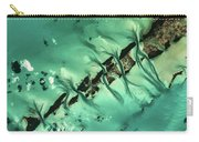 Satellite View Of Cays In North Carry-all Pouch