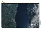 Satellite View Of Lake Michigan Carry-all Pouch