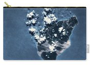 Satellite View Of Montserrat Island Carry-all Pouch