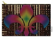 Satin Lily Symbol Digital Painting Carry-all Pouch
