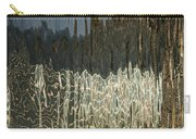 Satin Silk And Moire Abstract - Vertical Carry-all Pouch