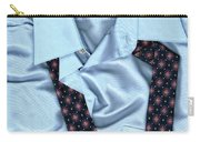 Saturday Morning - Men's Fashion Art By Sharon Cummings  Carry-all Pouch