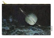 Saturn-y Carry-all Pouch by Ayse Deniz