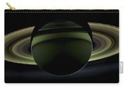 Saturns Glowing Rings Carry-all Pouch by Adam Romanowicz