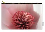 Saucer Magnolia Macro Carry-all Pouch