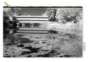 Saucks Bridge - Pond - Bw Carry-all Pouch