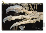Saurophaganax Dinosaur Claw Fossil Carry-all Pouch