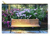 Savannah Bench Carry-all Pouch by Carol Groenen