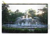 Savannah Georgia Forsyth Park Fountain Carry-all Pouch