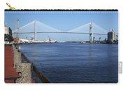Savannah River Bridge Ga Carry-all Pouch
