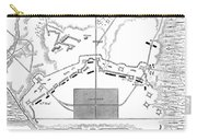 Savannah Siege Map, 1779 Carry-all Pouch