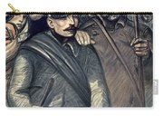 Save Serbia Our Ally Carry-all Pouch by Theophile Alexandre Steinlen