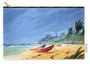 Saving The Fishing Boats - Maunabo Beach Puerto Rico Carry-all Pouch