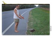 Saving The Turtle Carry-all Pouch