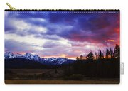Sawtooth Sunset Panorama Carry-all Pouch
