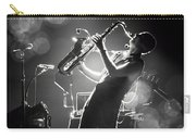 Sax In Black Carry-all Pouch