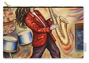 Sax Man Carry-all Pouch