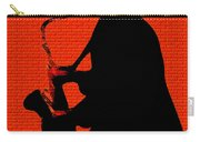 Sax On The Bricks Carry-all Pouch