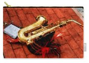 Saxophone Before The Parade Carry-all Pouch