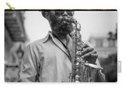 Saxophone Musician New Orleans Carry-all Pouch