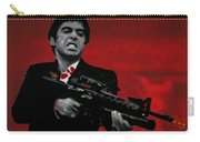 Say Hello To My Little Friend  Carry-all Pouch by Luis Ludzska