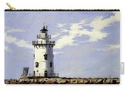 Saybrook Breakwater Lighthouse Old Saybrook Connecticut Carry-all Pouch