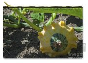 Scallop Squash Carry-all Pouch