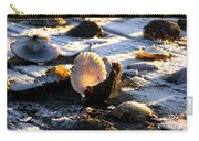 Half Shell On Ice Carry-all Pouch